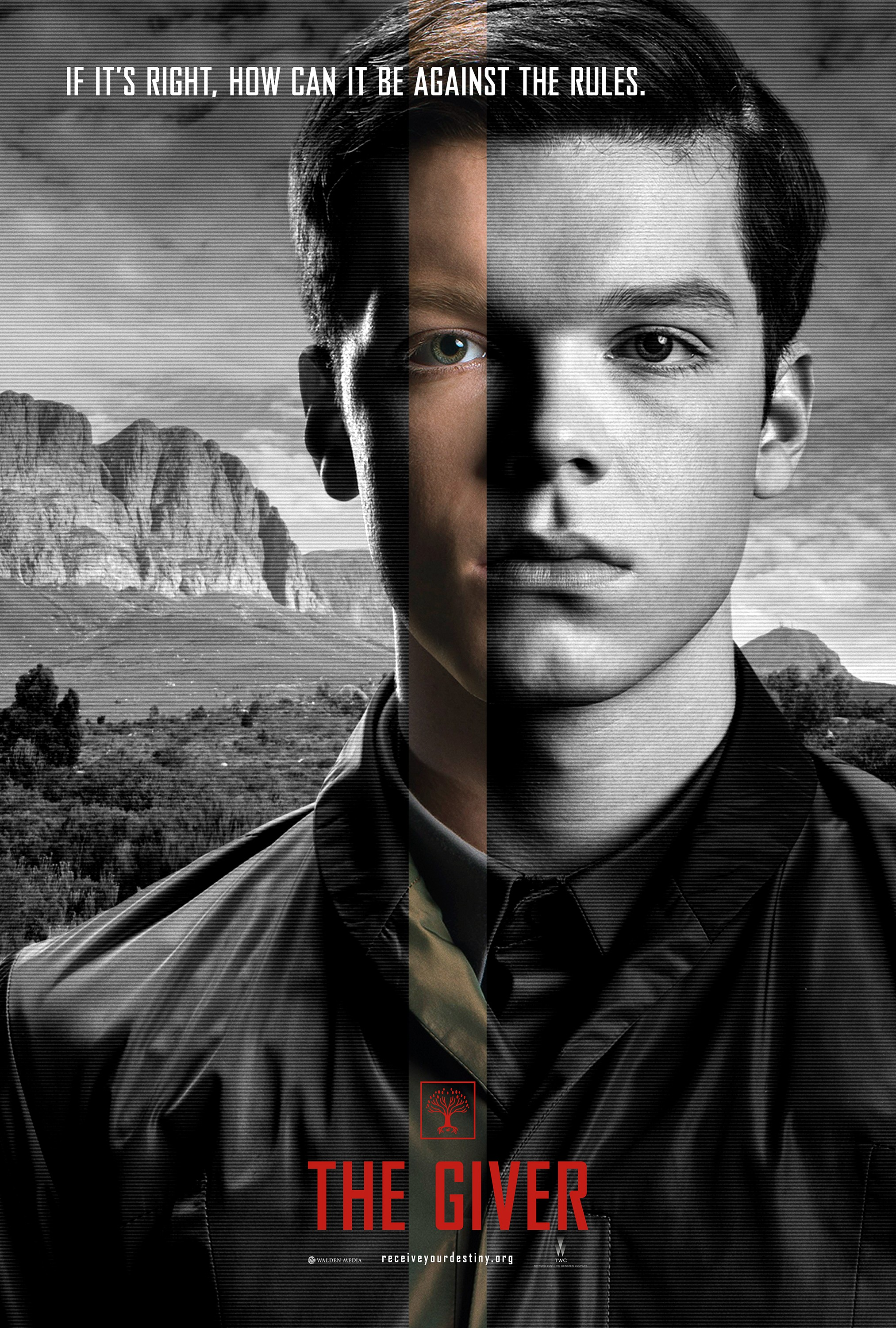 The Giver-Official Poster Banner PROMO XXLG-23MAIO2014-05