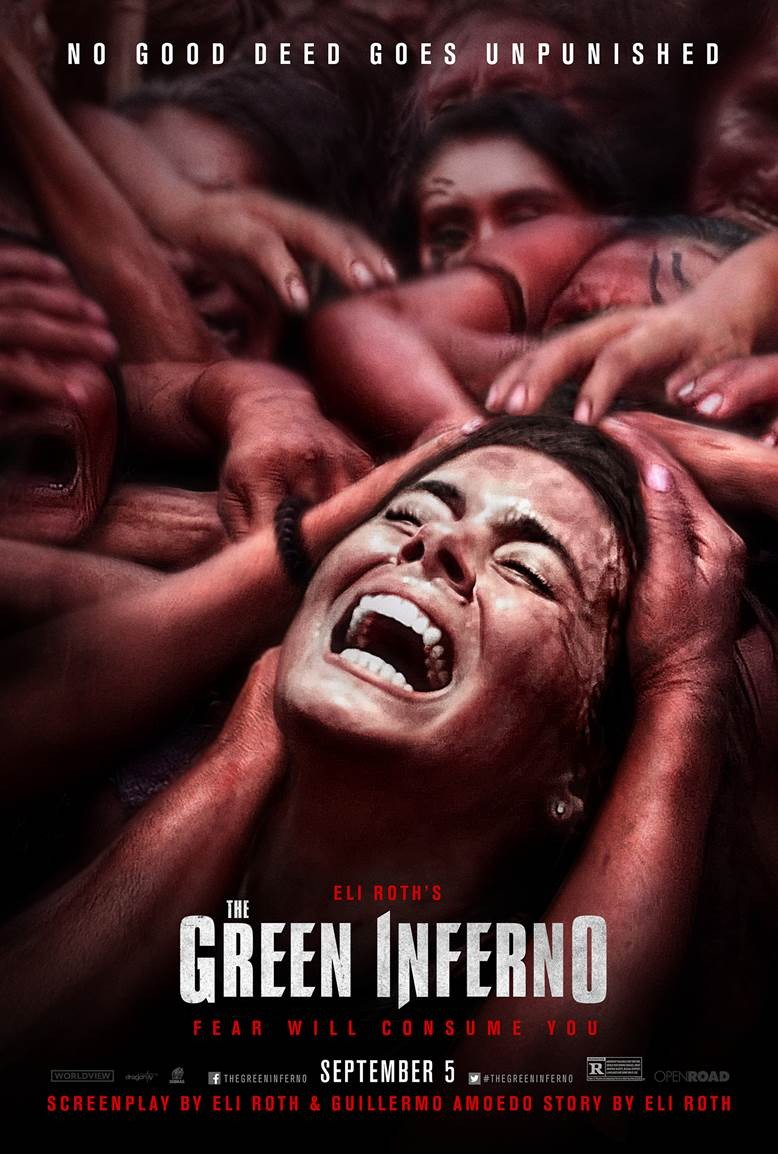 The Green Inferno-Official Poster Banner PROMO XLG-29MAIO2014