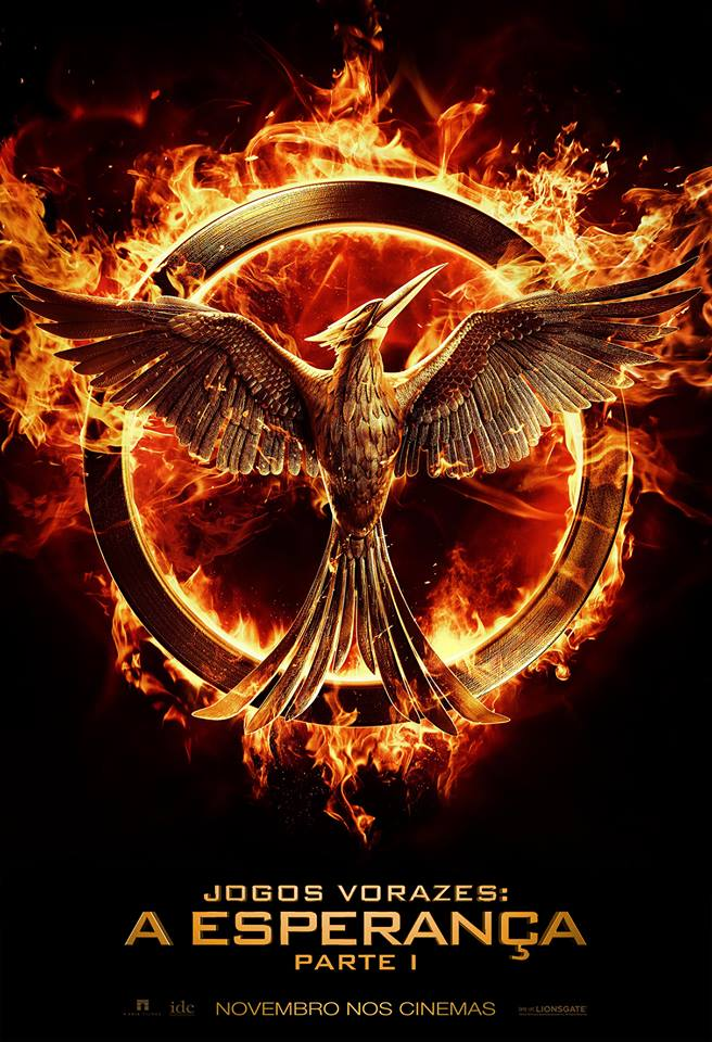 The Hunger Games Mockingjay - Part 1-Official Poster Banner PROMO POSTER XXLG-16MAIO2014