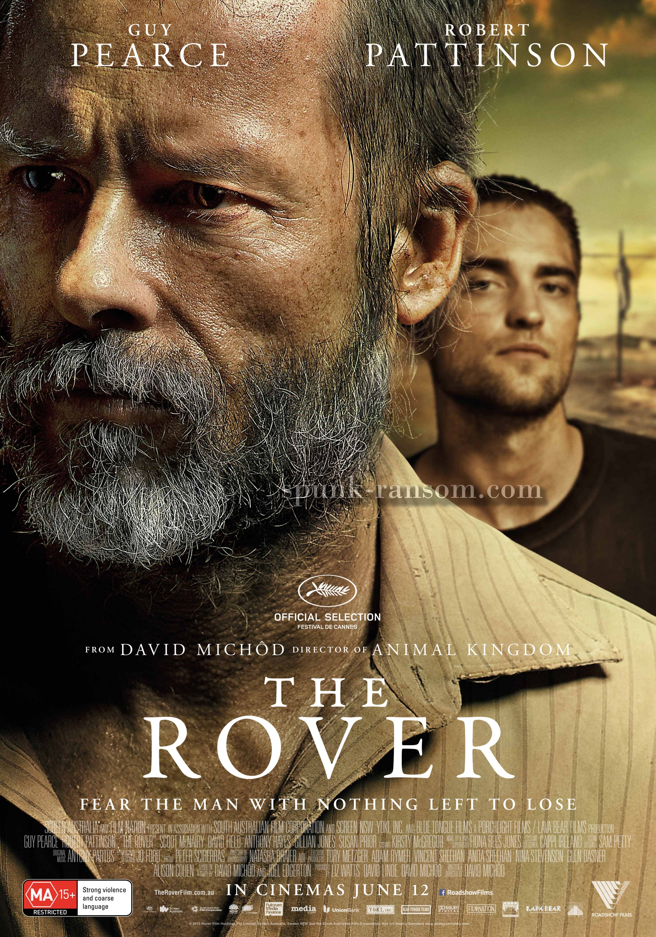 The Rover-Official Poster Banner PROMO XXLG-07MAIO2014