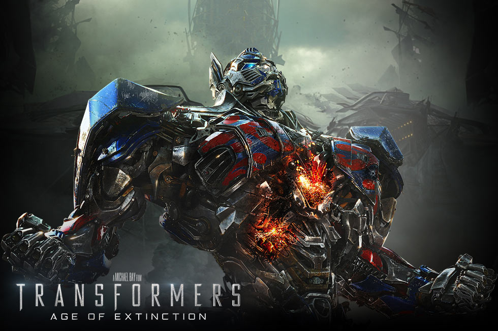 Transformers Age of Extinction-Official Poster Banner PROMO-19MAIO2014-01