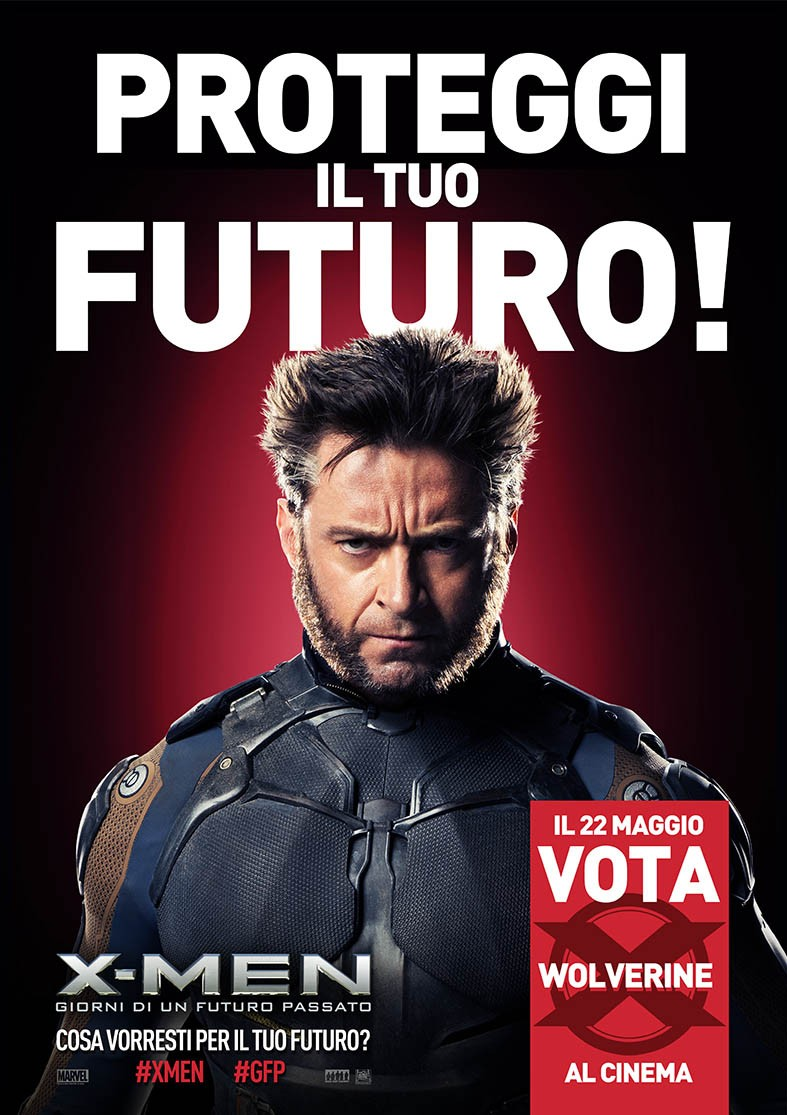 X-Men Days of Future Past-Official Poster Banner XLG CHAR-01MAIO2014-01