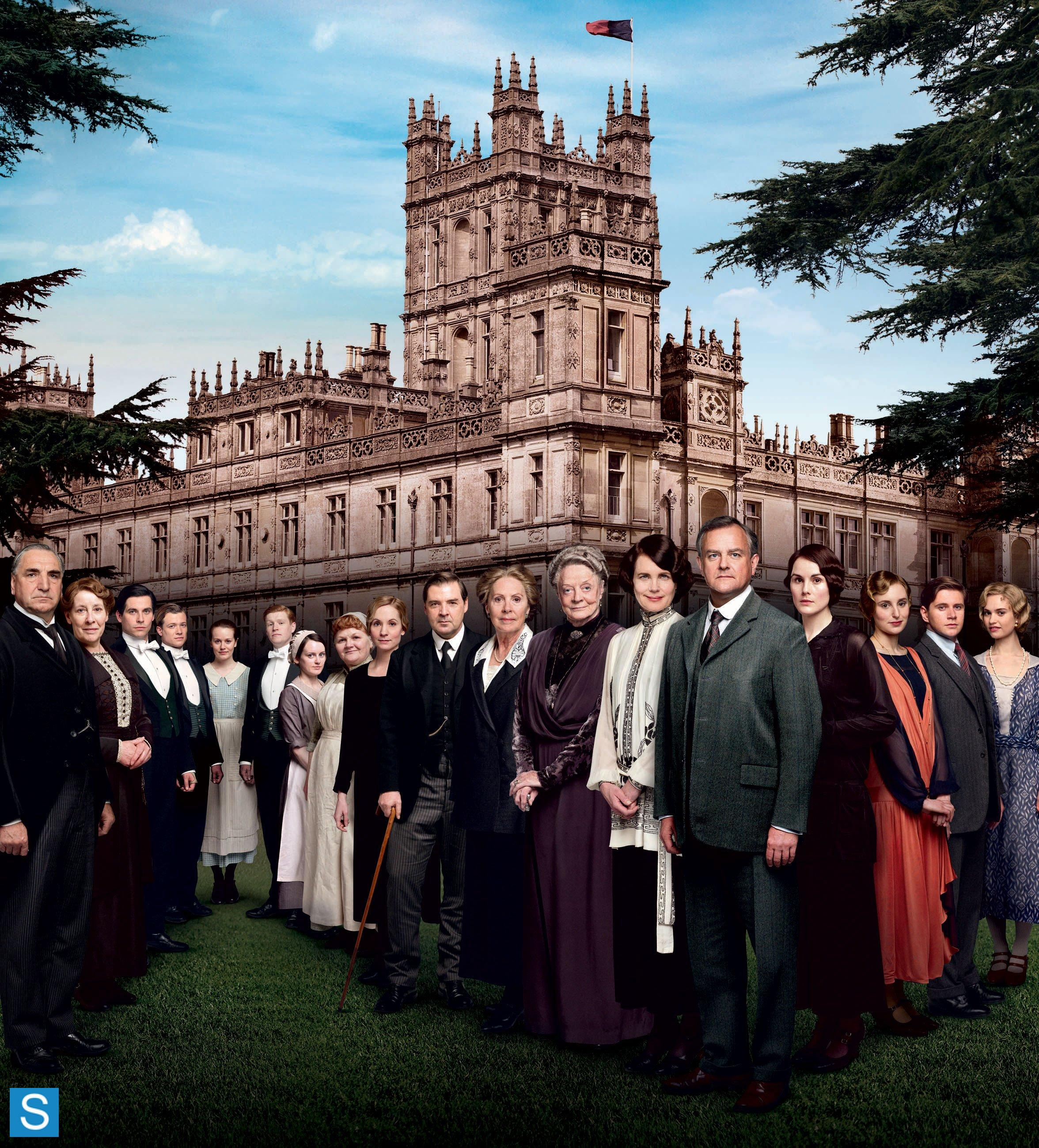 Downton Abbey-Season 4-Official Poster Banner PROMO-16JUNHO2014-01