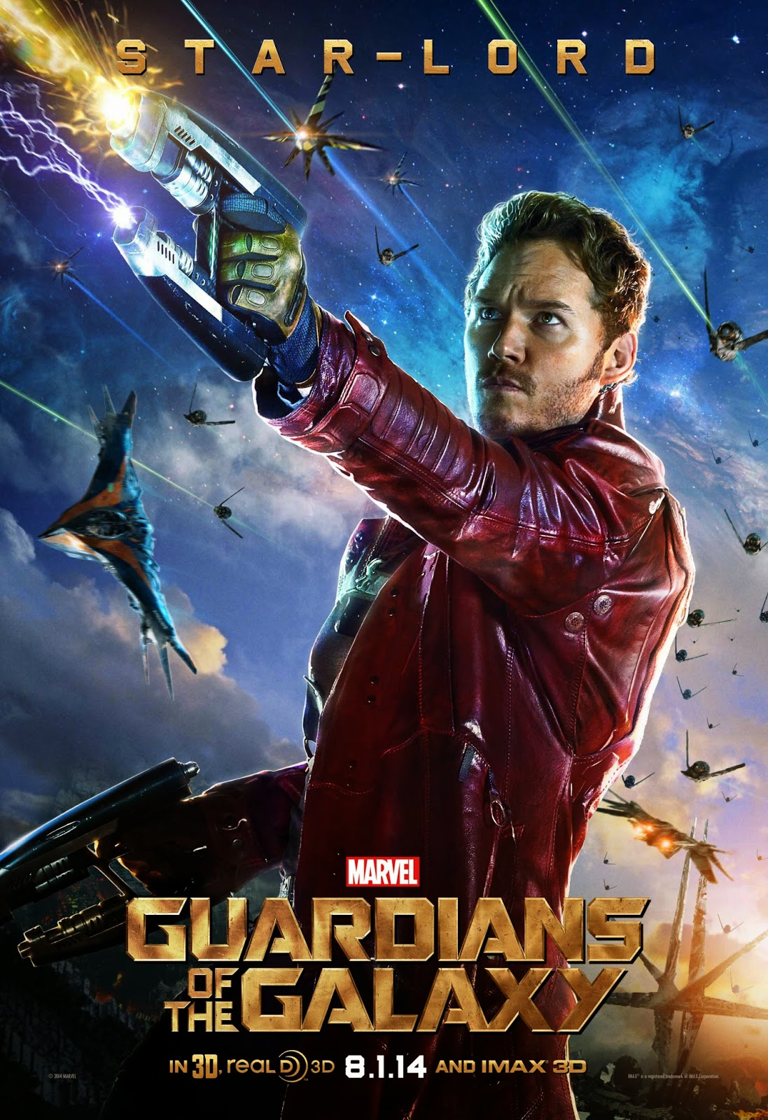 GUARDIANS OF THE GALAXY-Official Poster Banner PROMO CHAR-12JUNHO2014-01