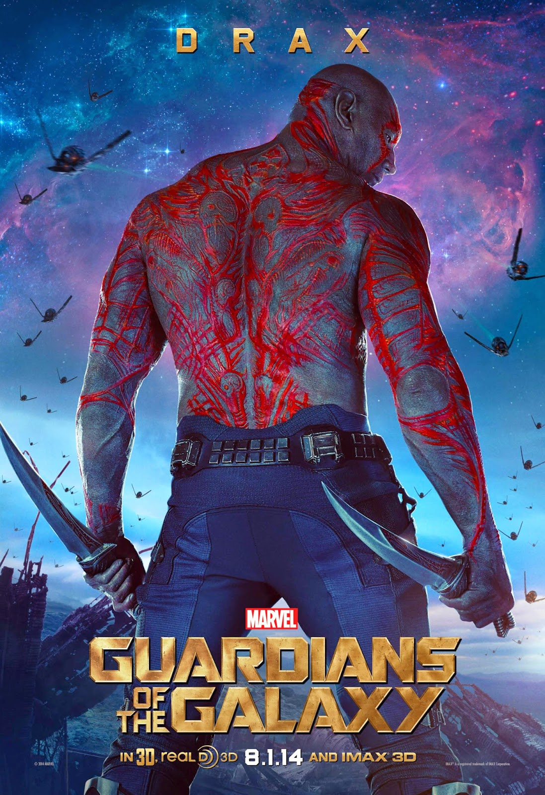 GUARDIANS OF THE GALAXY-Official Poster Banner PROMO CHAR-12JUNHO2014-02