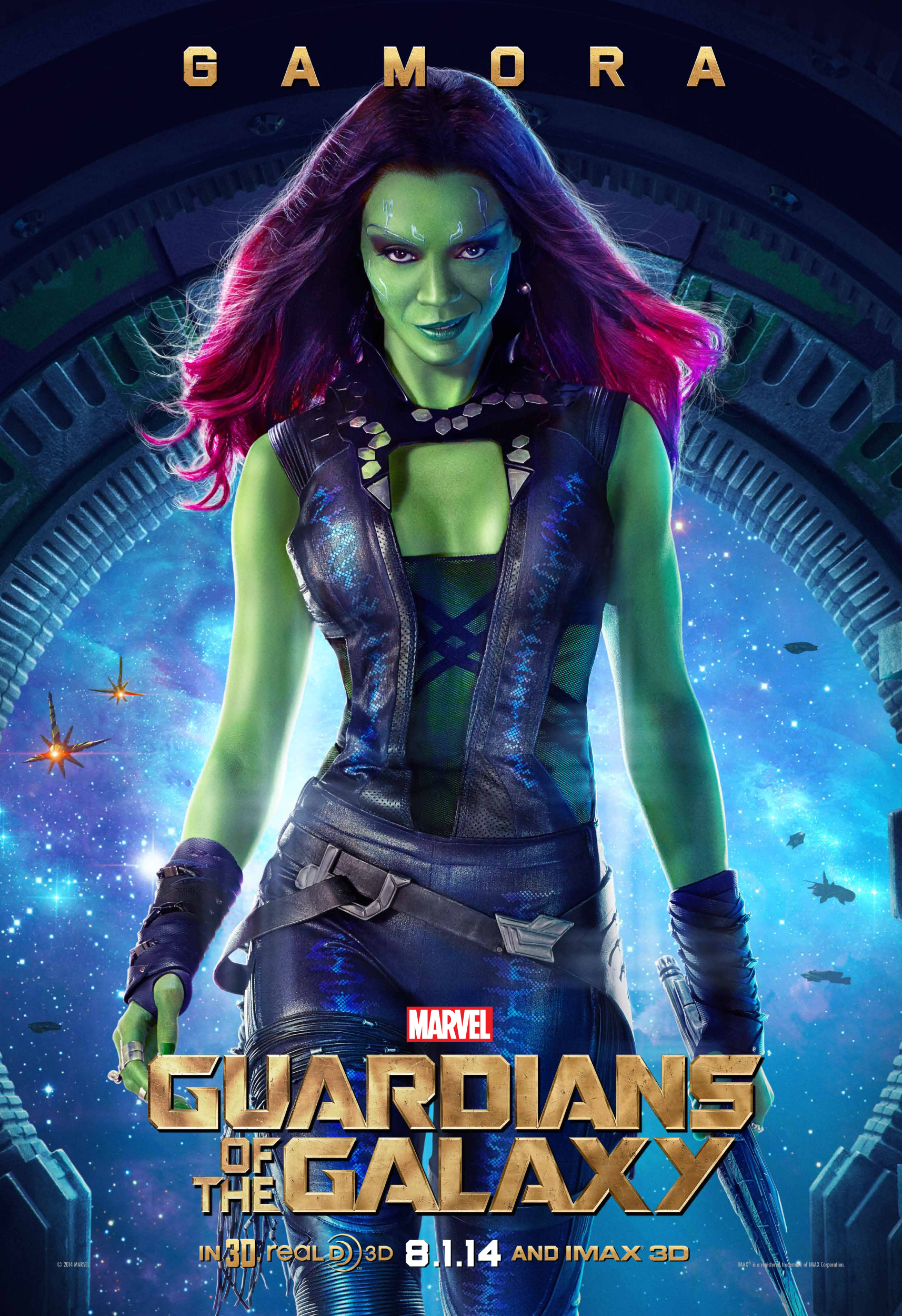 GUARDIANS OF THE GALAXY-Official Poster Banner PROMO CHAR-12JUNHO2014-03