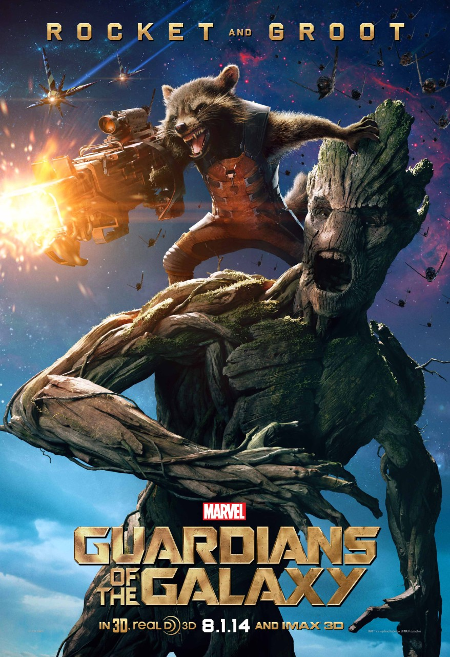 Guardians of the Galaxy-Official Poster Banner PROMO XLG-10JUNHO2014