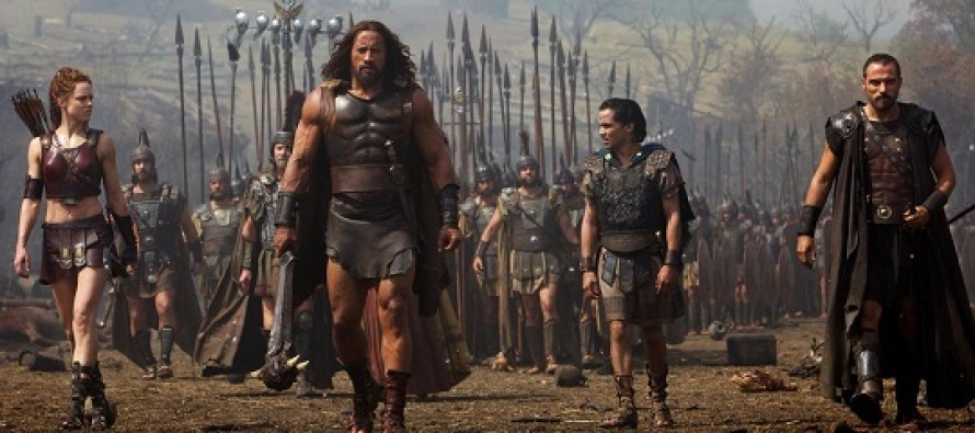 "HÉRCULES com Dwayne ""The Rock"" Johnson ganha COMERCIAIS para TV inéditos!"