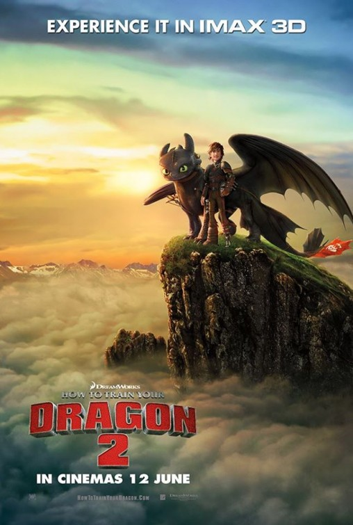 How To Train Your Dragon 2-Official Poster Banner PROMO IMAX-12JUNHO2014