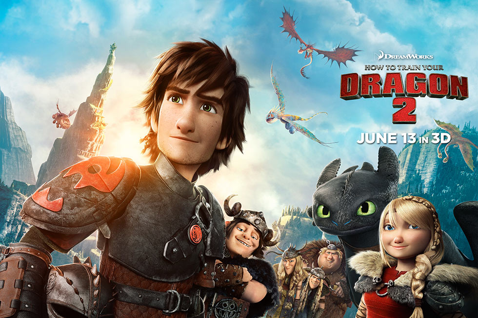 How to Train Your Dragon 2-Official Poster Banner PROMO XLG-11JUNHO2014-01