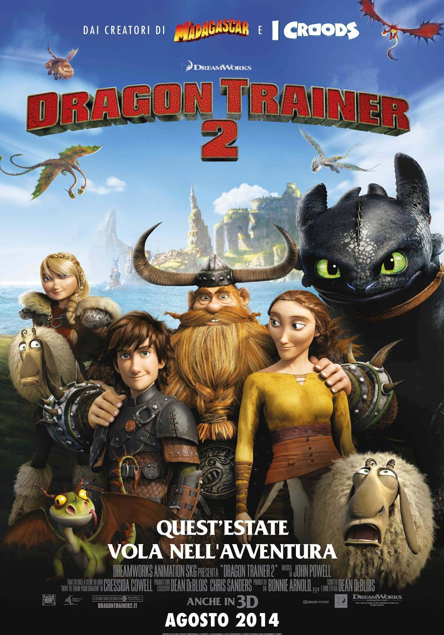 How to Train Your Dragon 2-Official Poster Banner PROMO XLG-11JUNHO2014-02