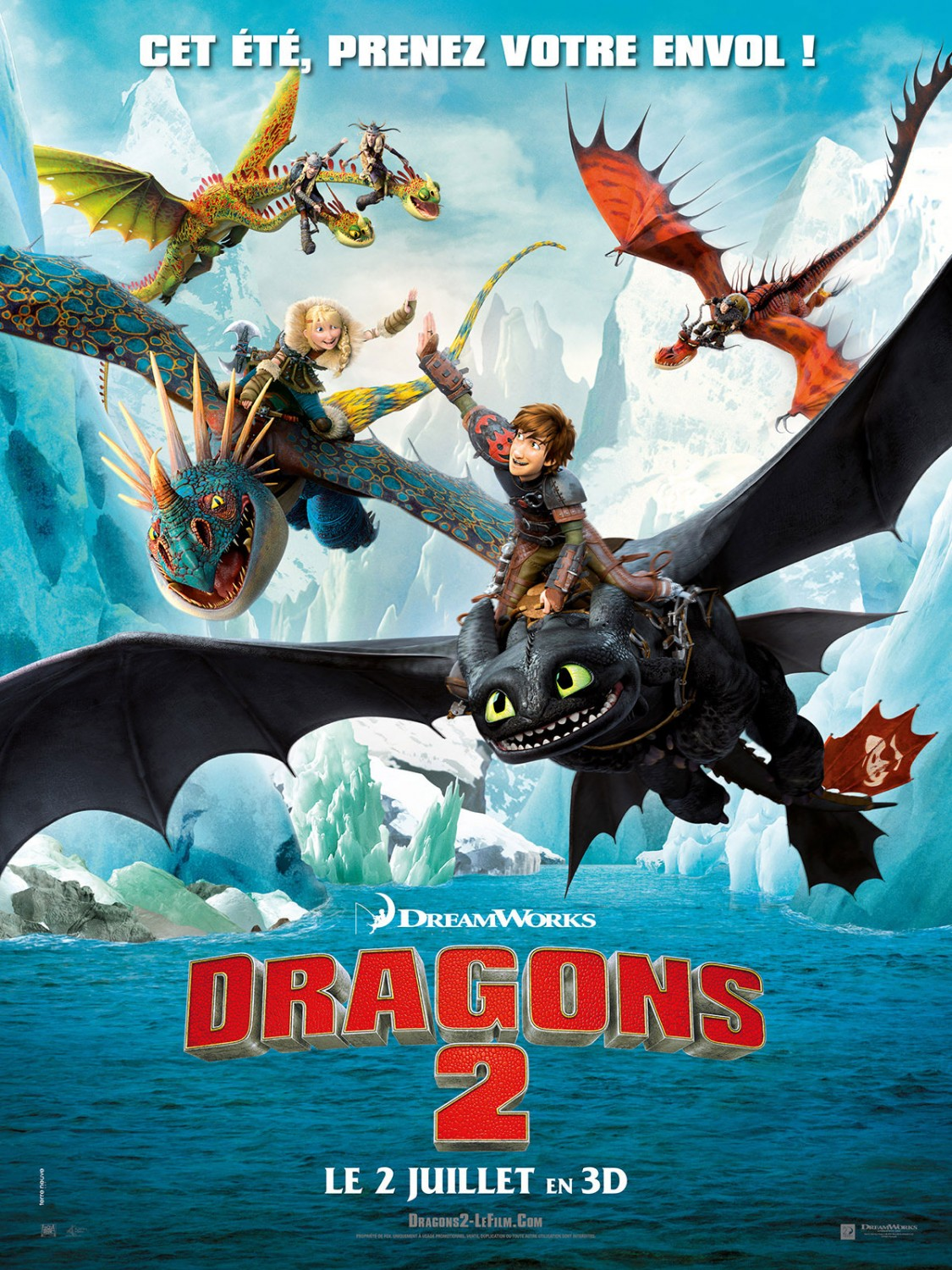 How to Train Your Dragon 2-Official Poster Banner PROMO XLG-11JUNHO2014-03