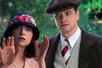 Emma Stone e Colin Firth no PÔSTER da comédia MAGIC IN THE MOONLIGHT
