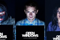Elijah Wood e Sasha Grey estampam CARTAZES de personagens do thriller OPEN WINDOWS!