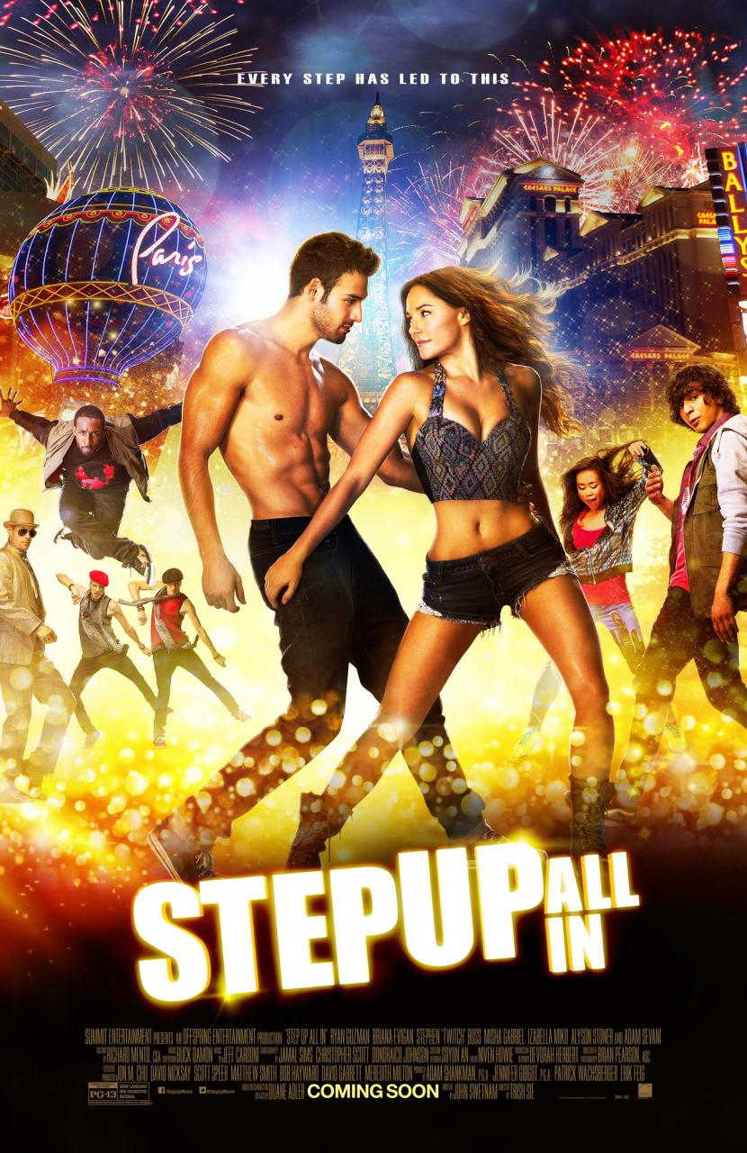 Step Up All In-Official Poster Banner PROMO XLG-04JUNHO2014