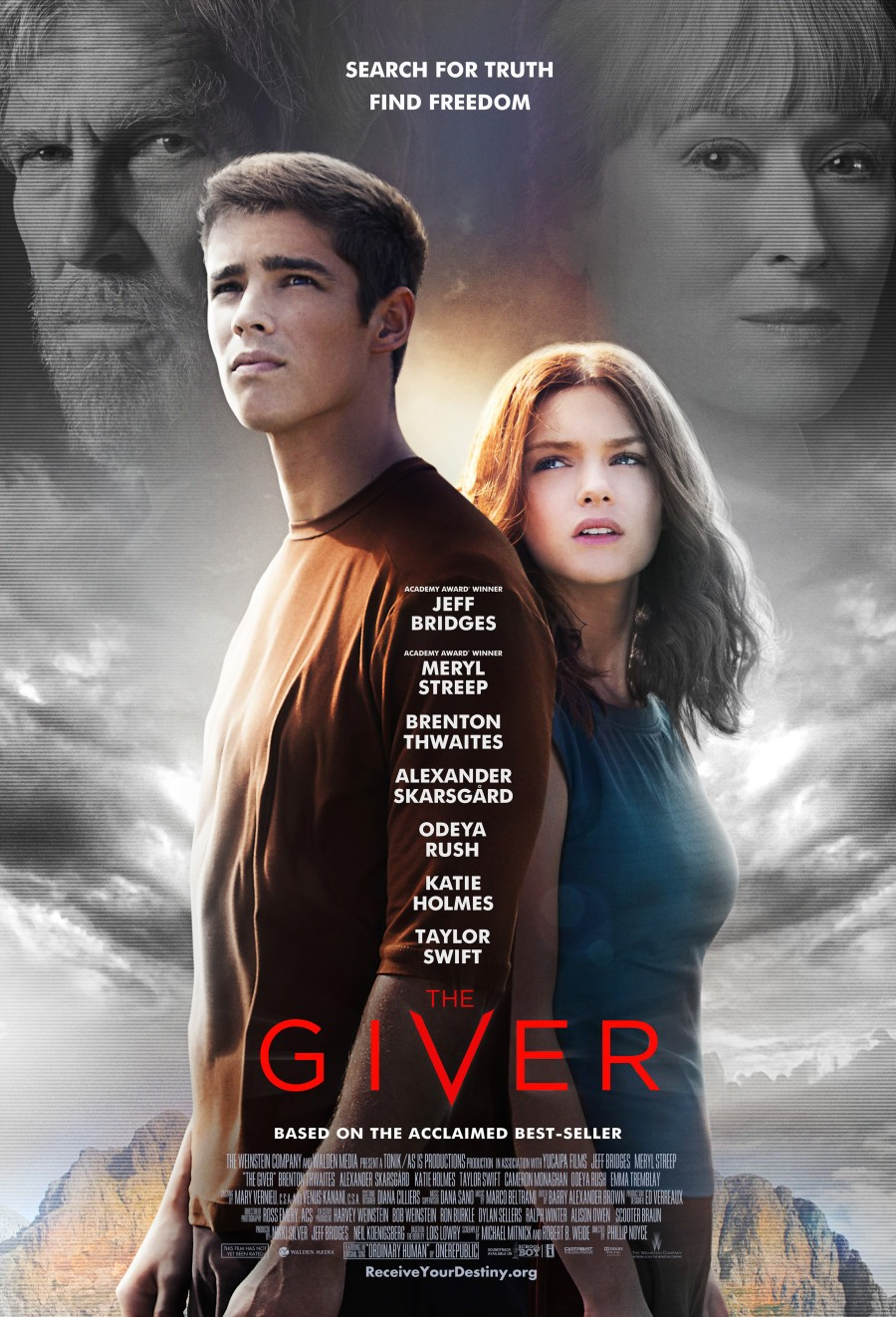 The Giver-Official Poster Banner PROMO XLG-26JUNHO2014