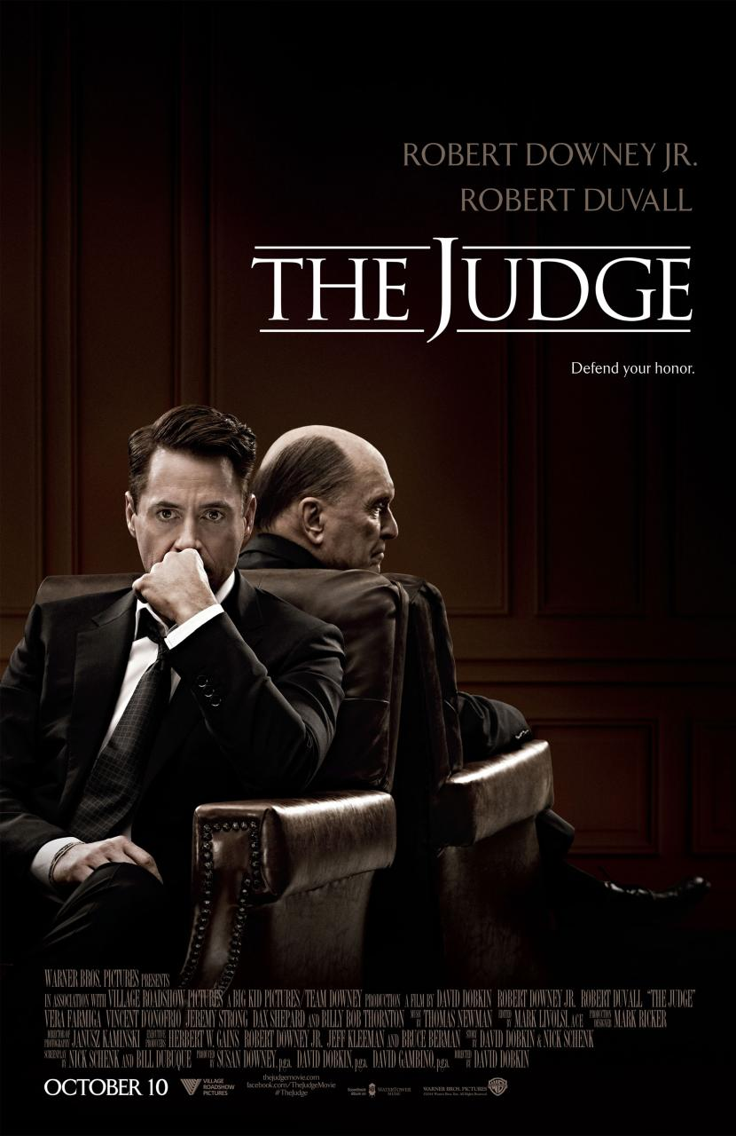 The Judge -Official Poster Banner PROMO XLG-20JUNHO2014