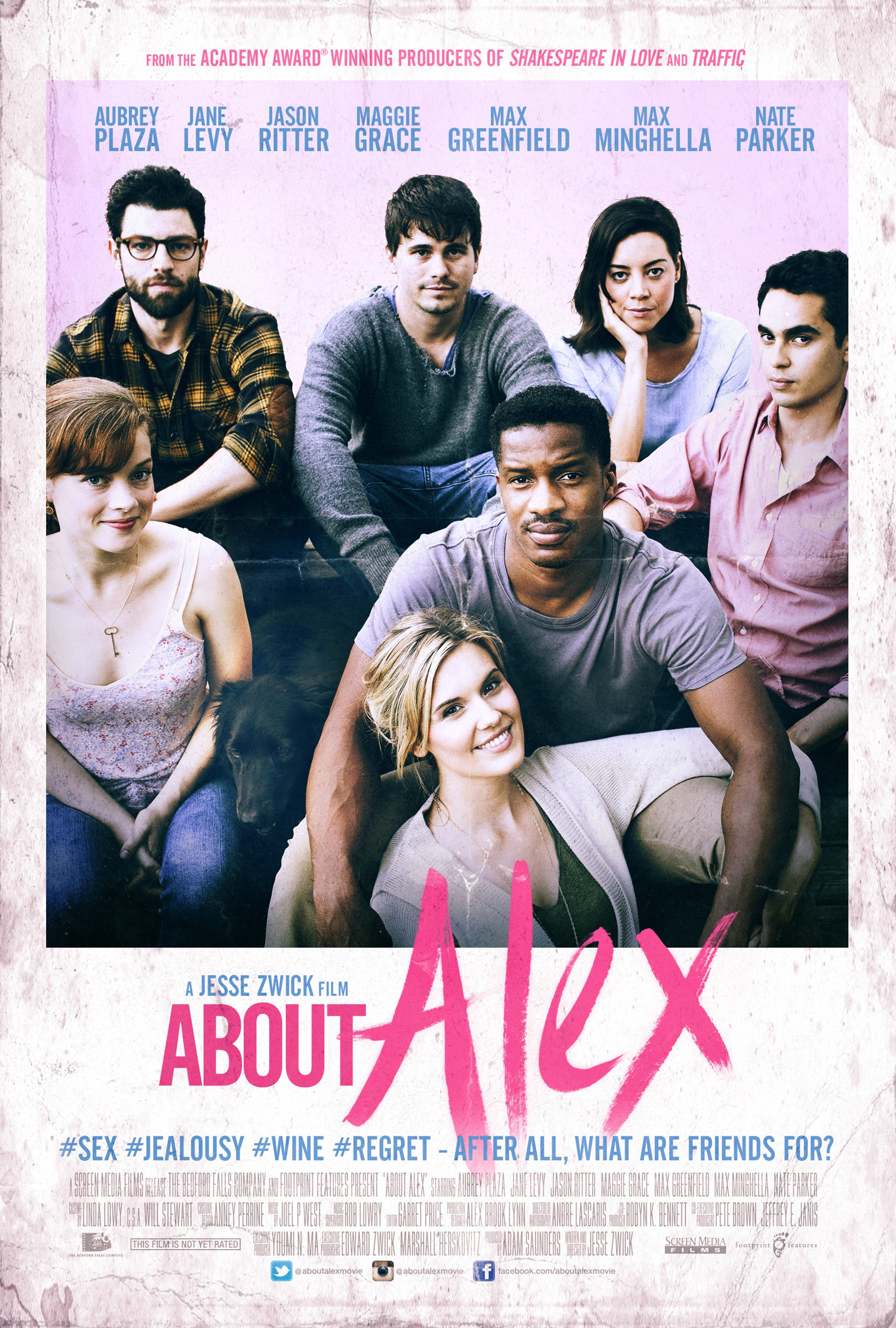 About Alex-Official Poster Banner PROMO XXLG-30JULHO2014
