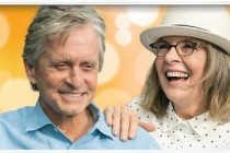 Diane Keaton e Michael Douglas estampam PÔSTER da comédia AND SO IT GOES