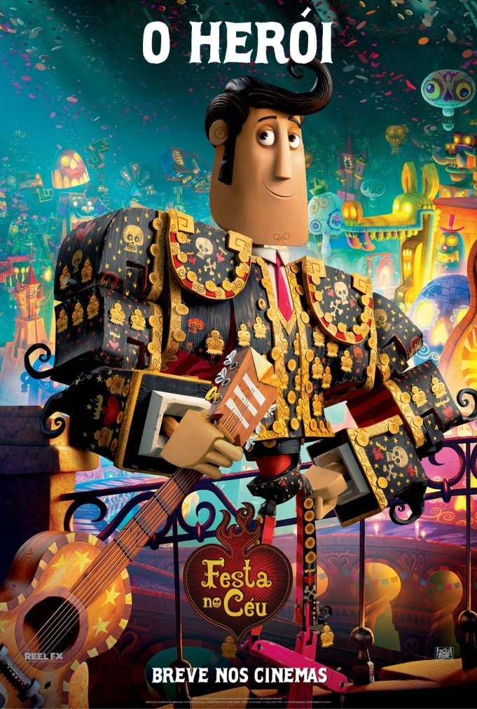 BOOK OF LIFE-Official Poster Banner PROMO NACIONAL-25JULHO2014-04