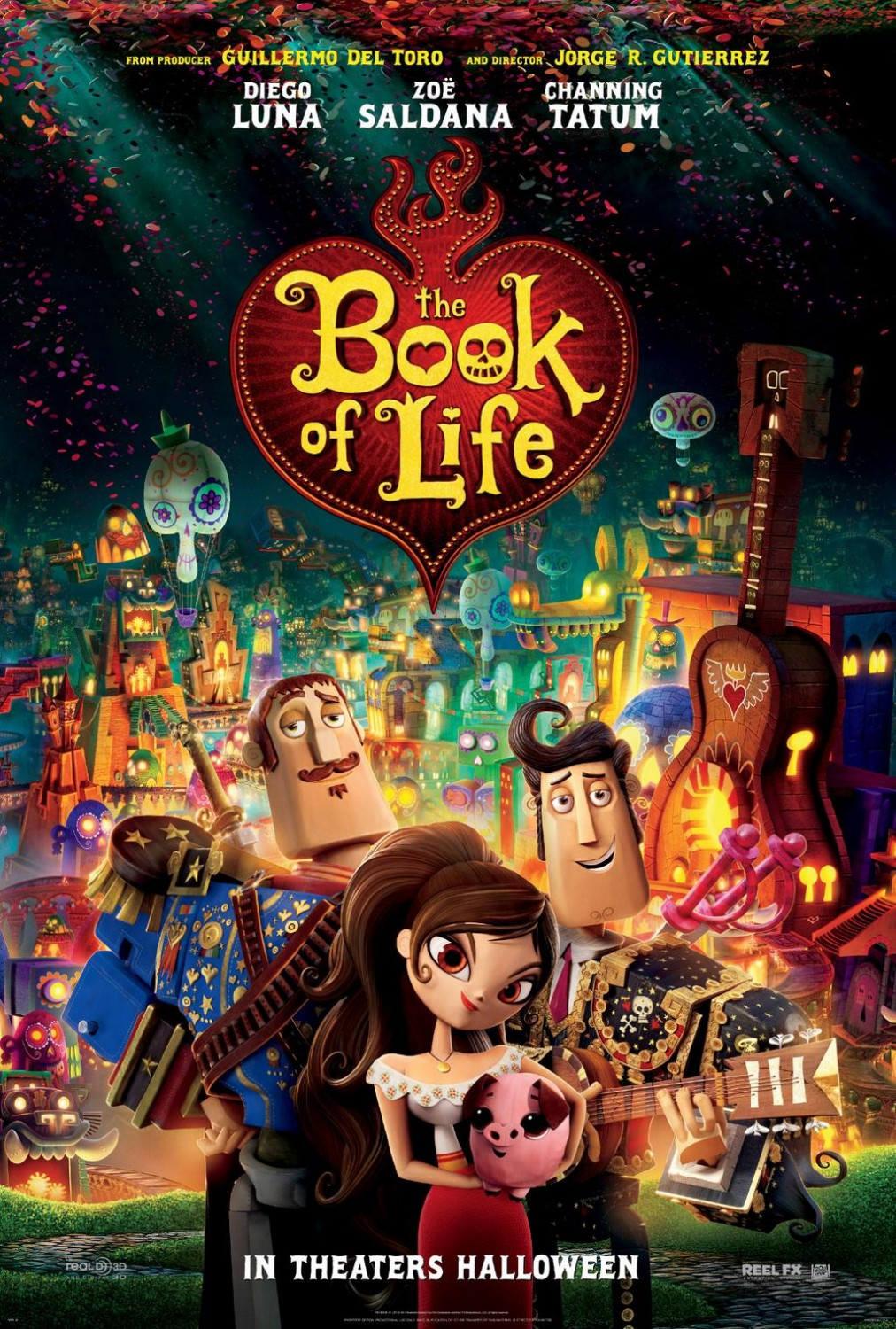 BOOK OF LIFE-Official Poster Banner PROMO NACIONAL-25JULHO2014-07