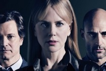 Nicole Kidman, Colin Firth e Mark Strong estampam PÔSTER de BEFORE I GO TO SLEEP