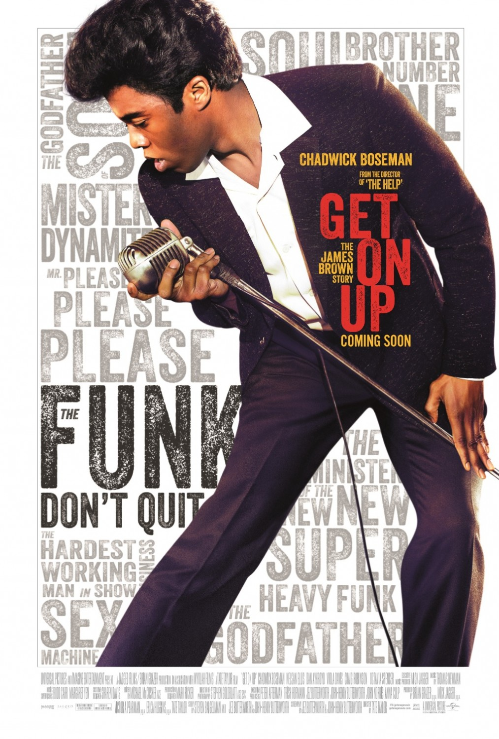 Get on Up-Official Poster Banner PROMO XLG-18JULHO2014