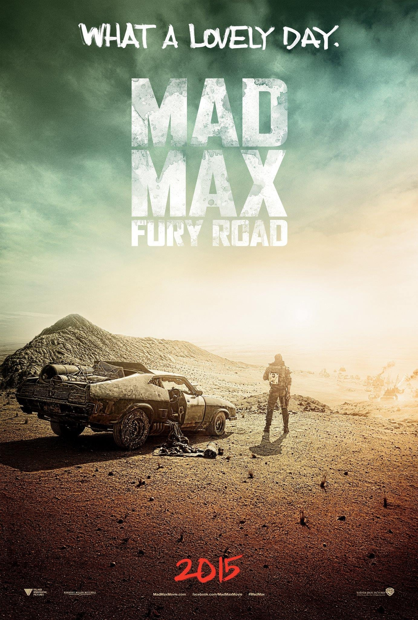 Mad Max Fury Road-Official Poster Banner PROMO XXLG-24JULHO2014