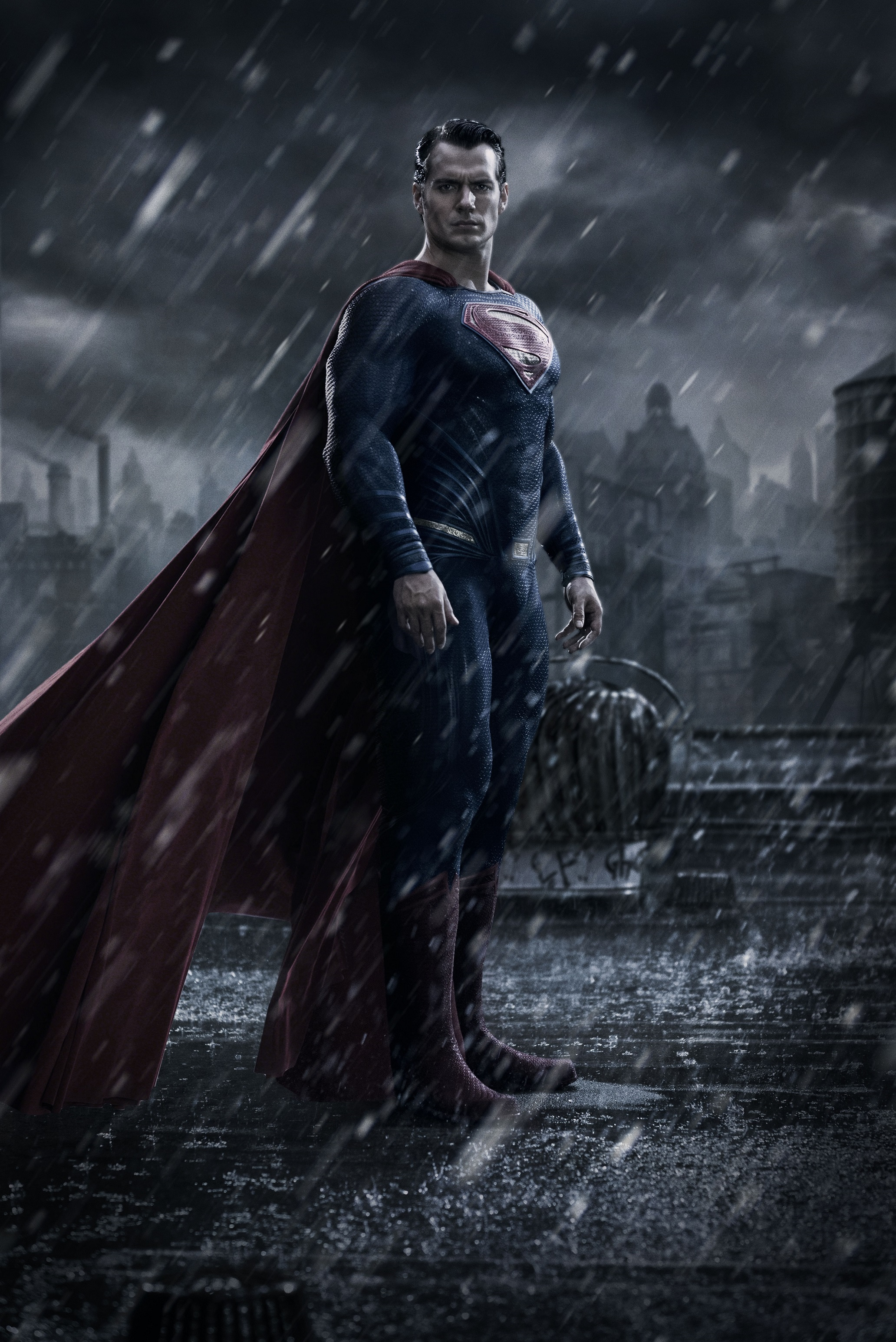 SUPERMAN V BATMAN DAWN OF JUSTICE-Official Poster FIRST LOOK-04JULHO2014