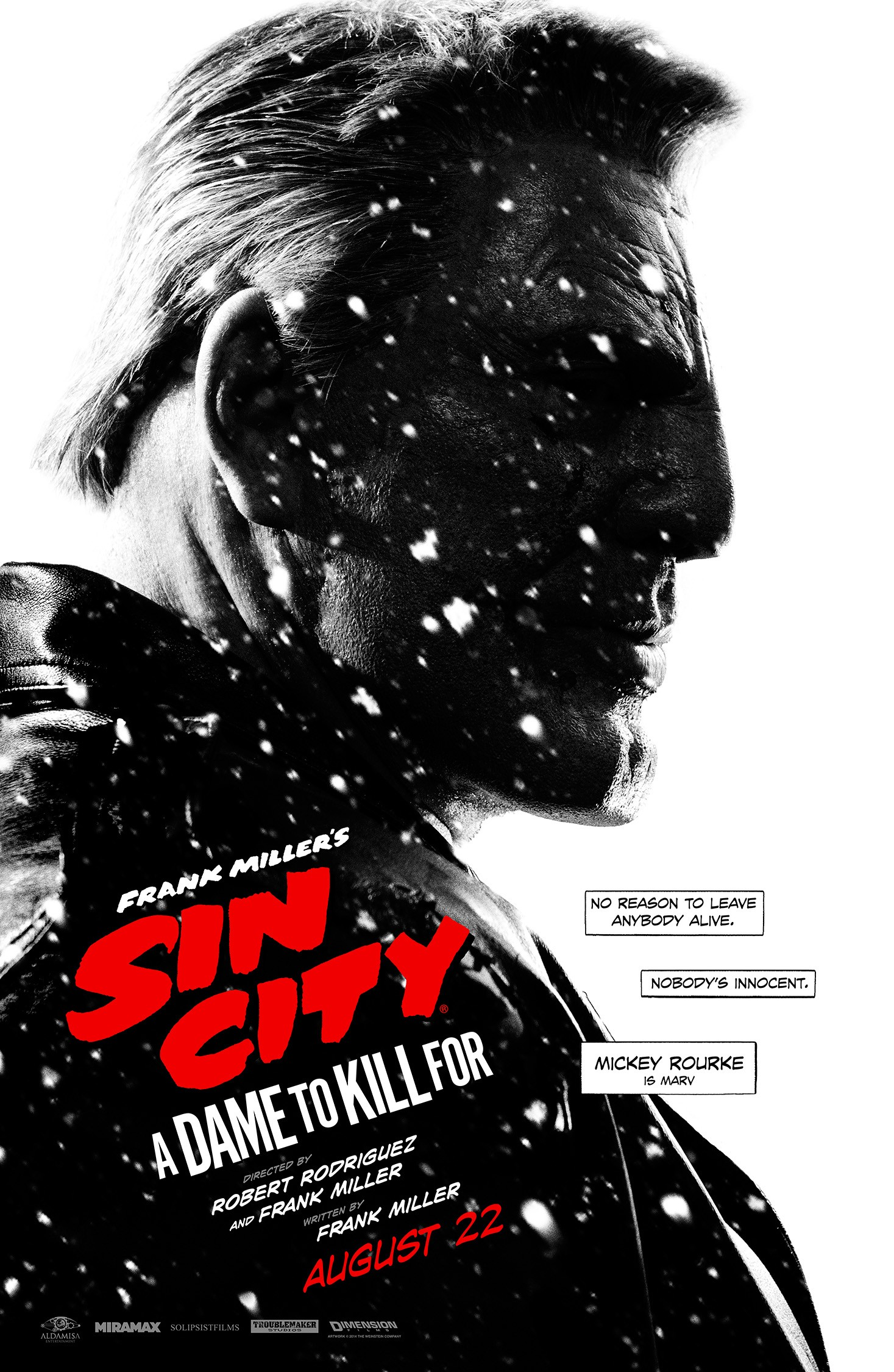 Sin City A Dame to Kill For-2-Official Poster Banner PROMO XXLG-22JULHO2014