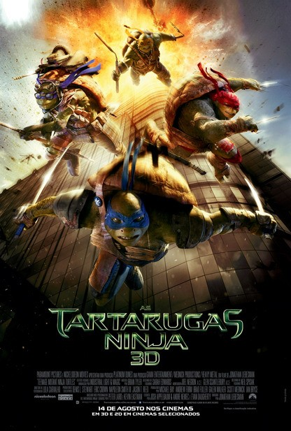 Teenage Mutant Ninja Turtles-Official Poster Banner PROMO-18JULHO2014