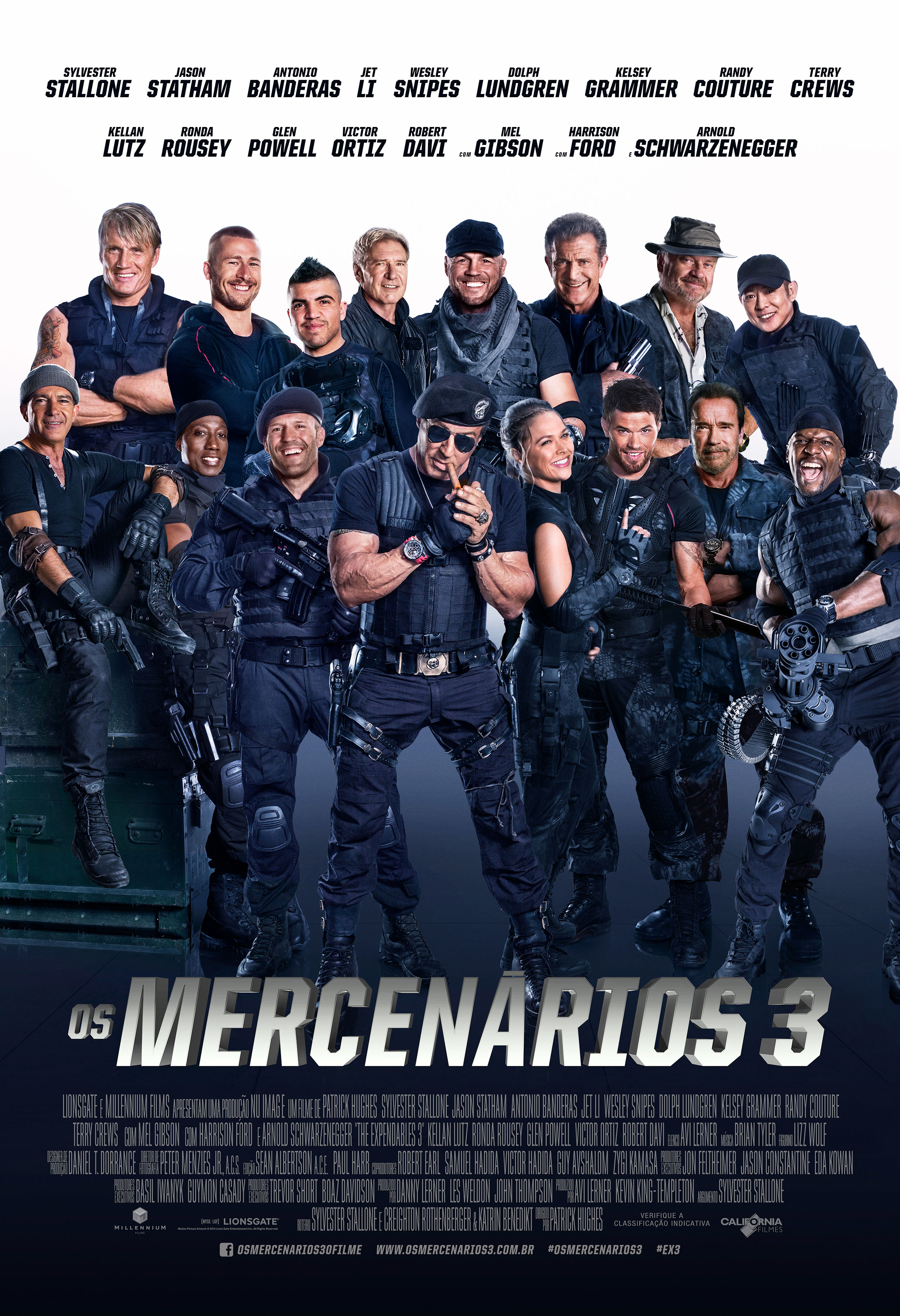 The Expendables 3-Official Poster Banner PROMO XLG-15JULHO2014