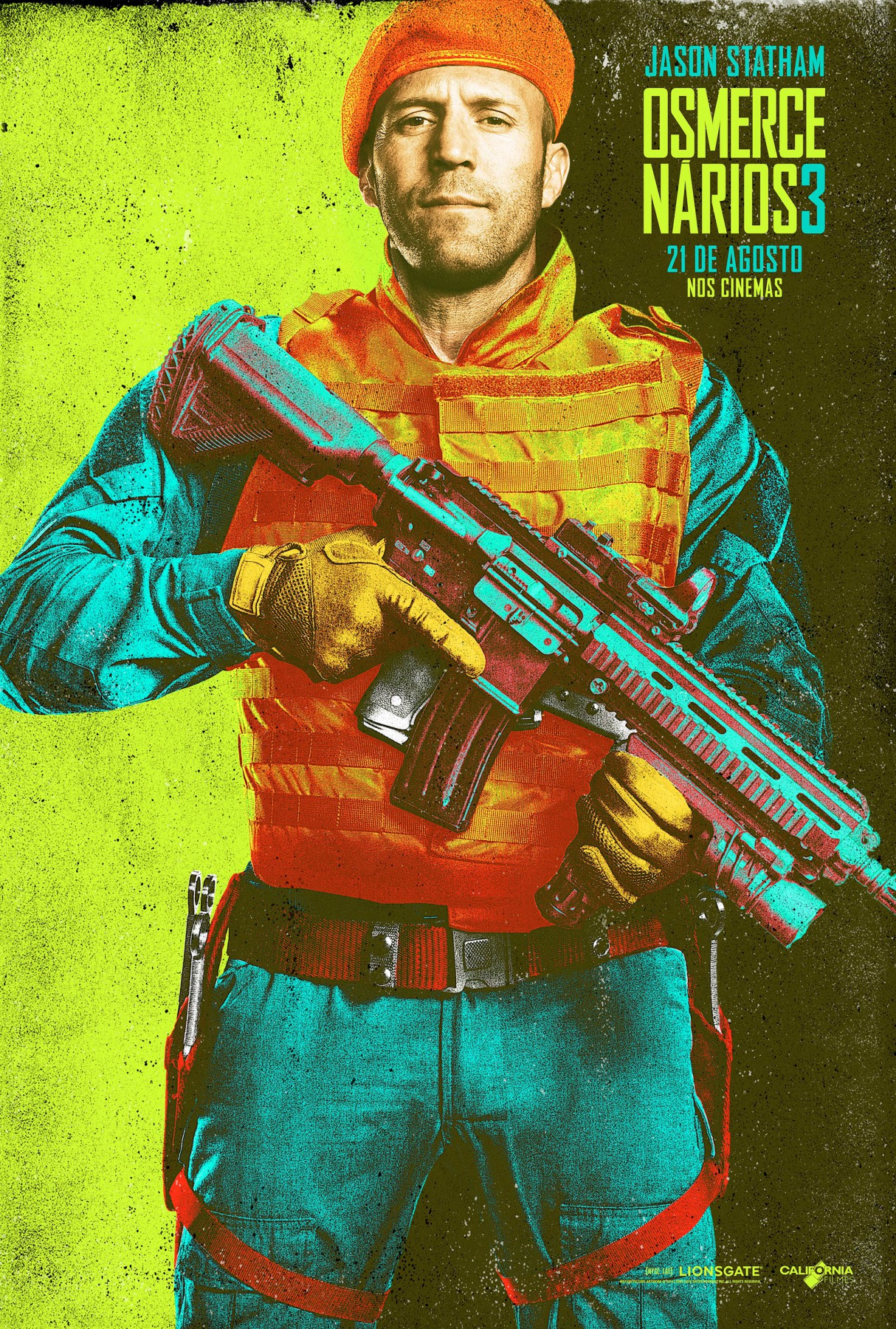 The Expendables 3-Official Poster Banner XLG CHAR-29JULHO2014-01