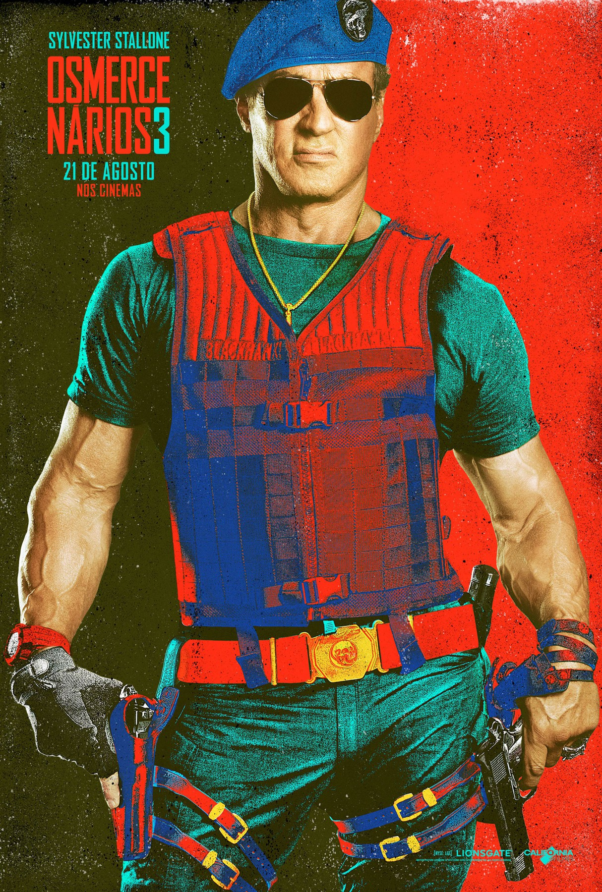The Expendables 3-Official Poster Banner XLG CHAR-29JULHO2014-02
