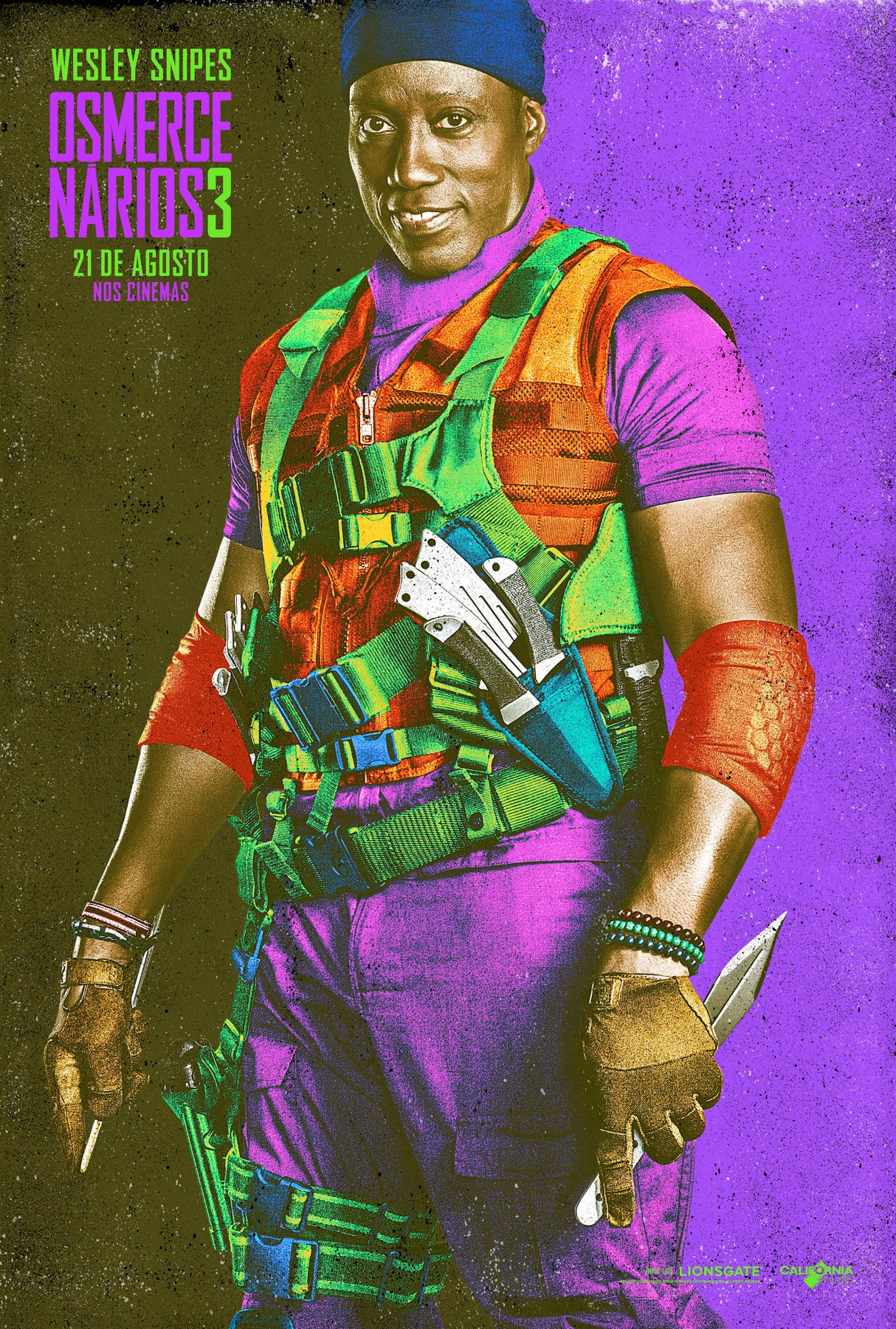 The Expendables 3-Official Poster Banner XLG CHAR-29JULHO2014-03