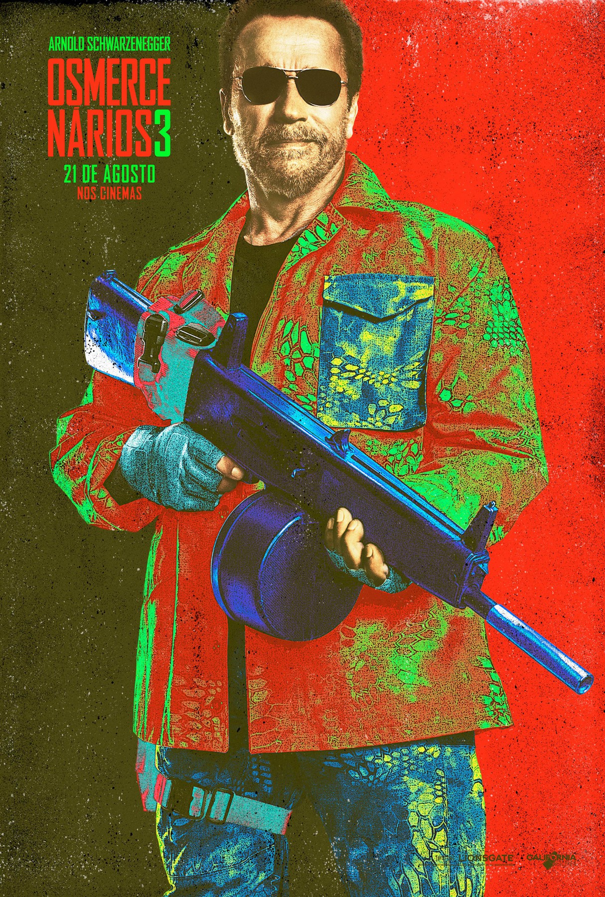 The Expendables 3-Official Poster Banner XLG CHAR-29JULHO2014-04