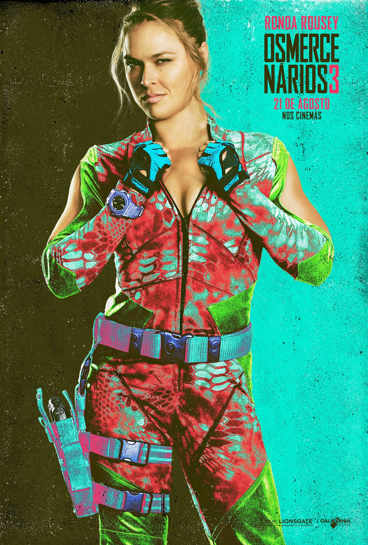 The Expendables 3-Official Poster Banner XLG CHAR-29JULHO2014-05