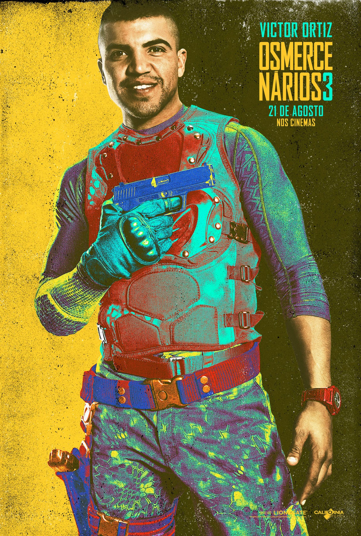 The Expendables 3-Official Poster Banner XLG CHAR-29JULHO2014-07