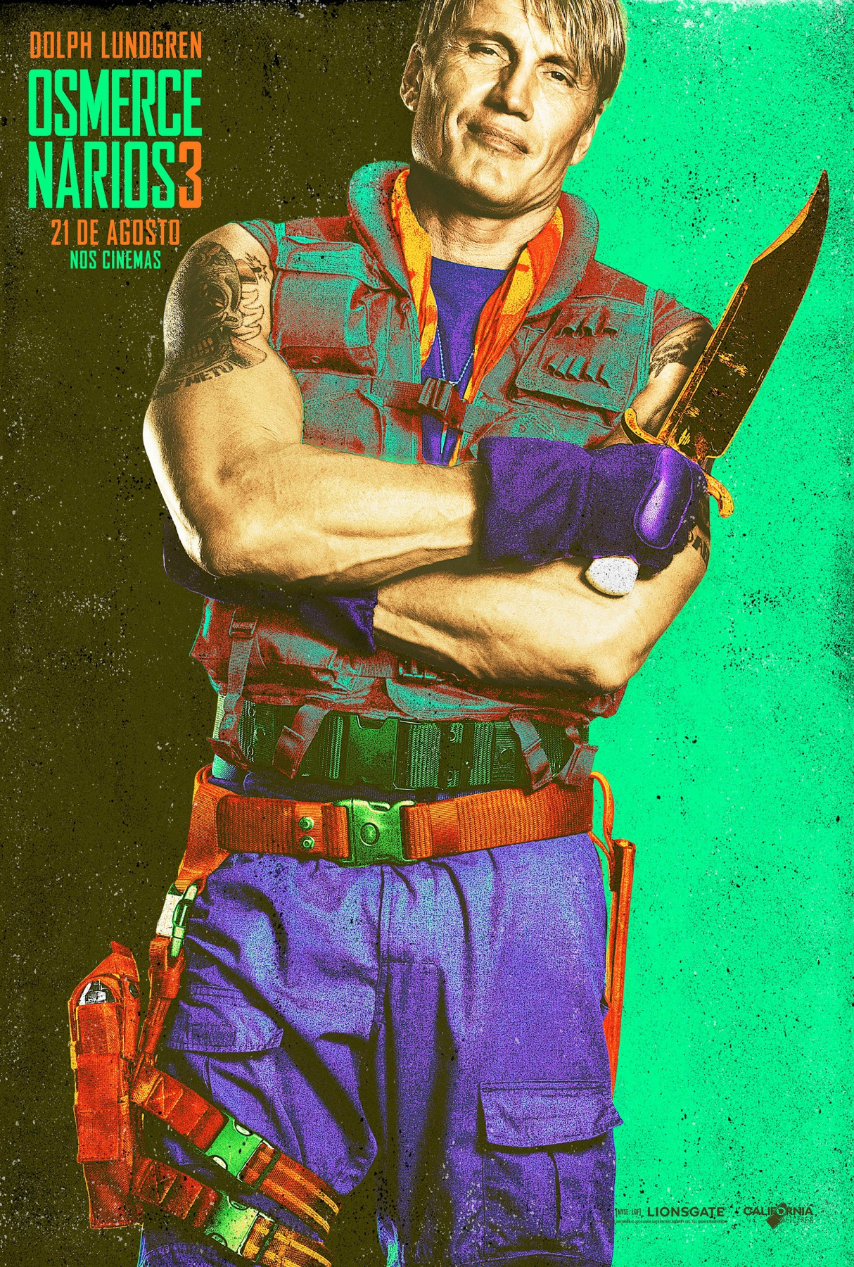 The Expendables 3-Official Poster Banner XLG CHAR-29JULHO2014-09