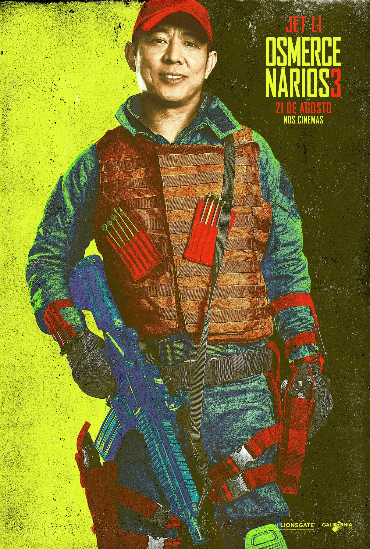 The Expendables 3-Official Poster Banner XLG CHAR-29JULHO2014-10