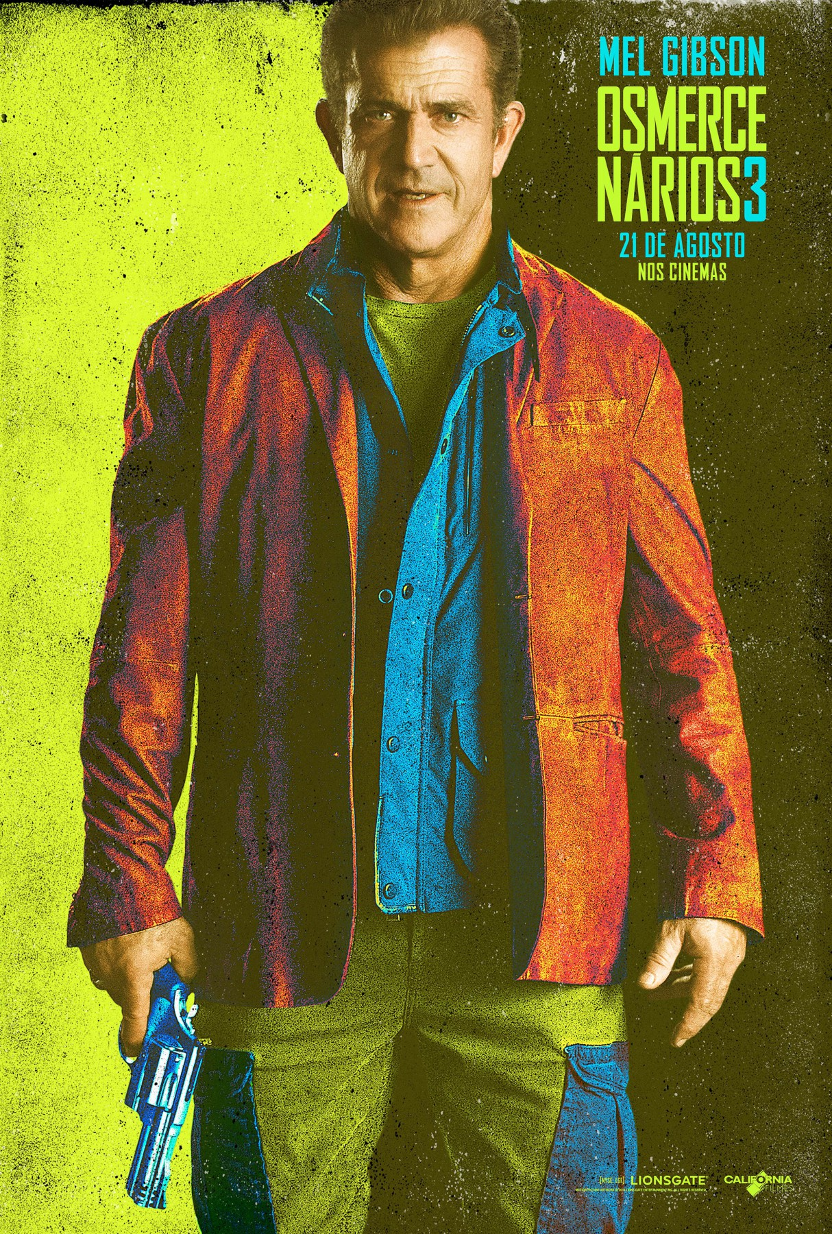 The Expendables 3-Official Poster Banner XLG CHAR-29JULHO2014-12