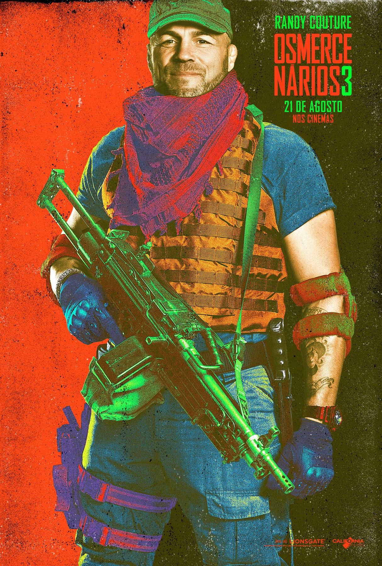The Expendables 3-Official Poster Banner XLG CHAR-29JULHO2014-15