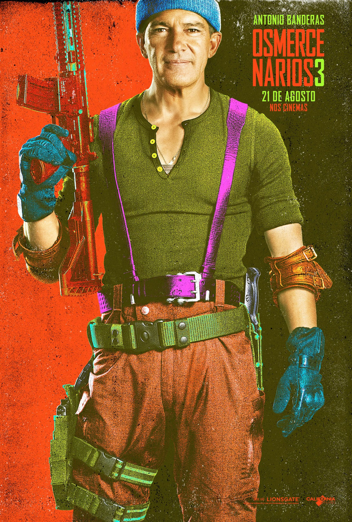 The Expendables 3-Official Poster Banner XLG CHAR-29JULHO2014-16