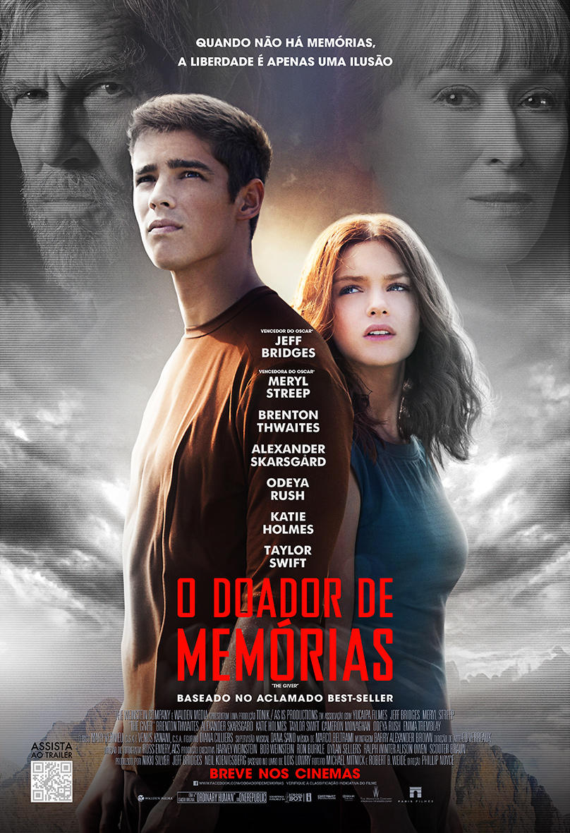 The Giver-Official Poster Banner PROMO XXLG-21JULHO2014