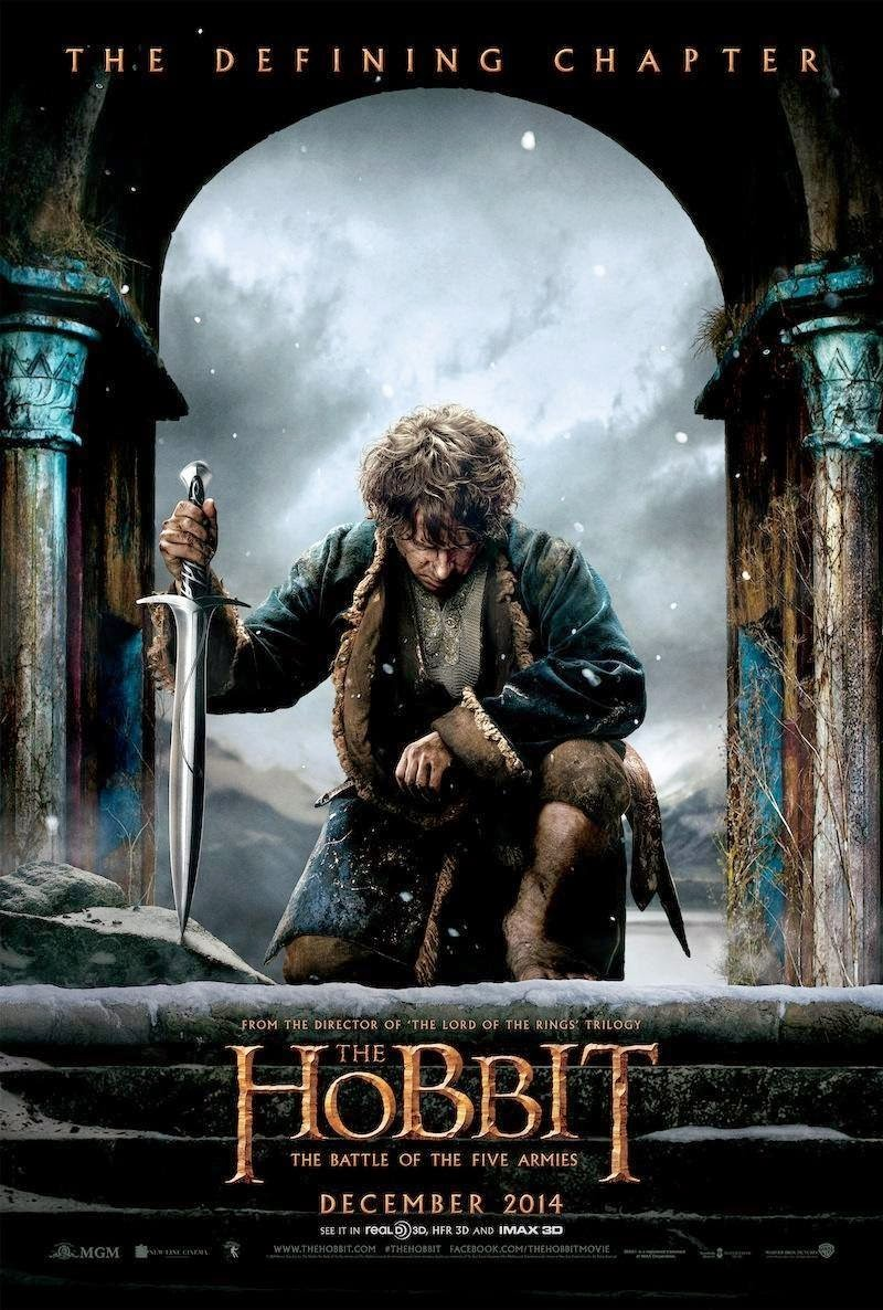 The Hobbit The Battle of the Five Armies-Official Poster Banner PROMO XLG-29JULHO2014