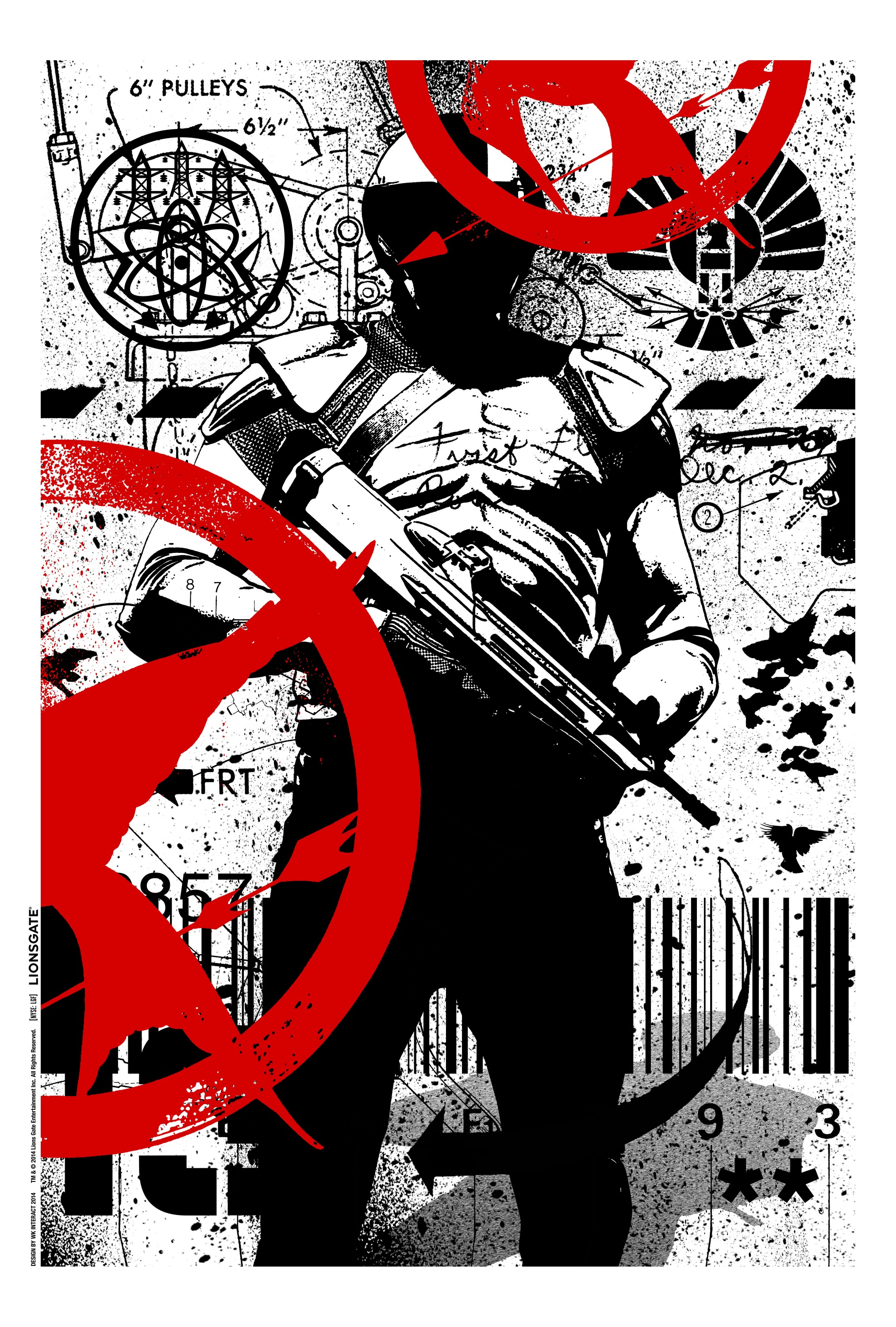 The Hunger Games Mockingjay - Part 1-Official Poster Banner PROMO COMIC-CON-25JULHO2014