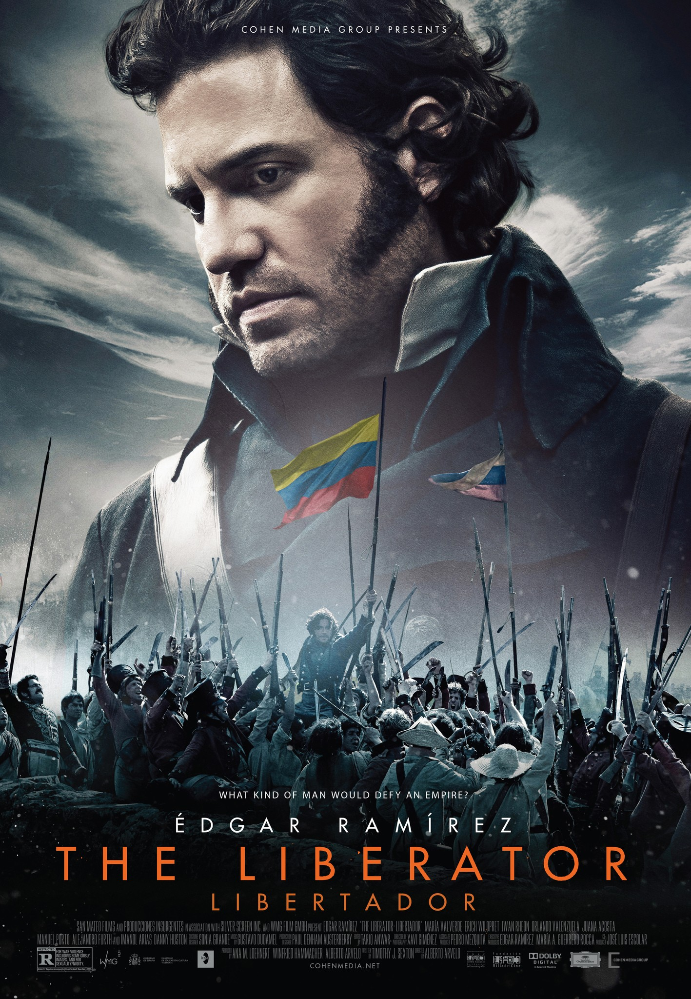 The Liberator-Official Poster Banner PROMO XXLG-15JULHO2014