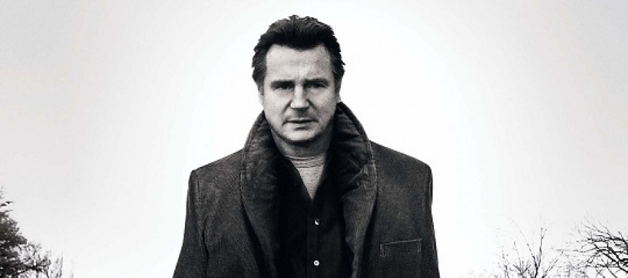 Liam Neeson no PÔSTER do thriller A WALK AMONG THE TOMBSTONES