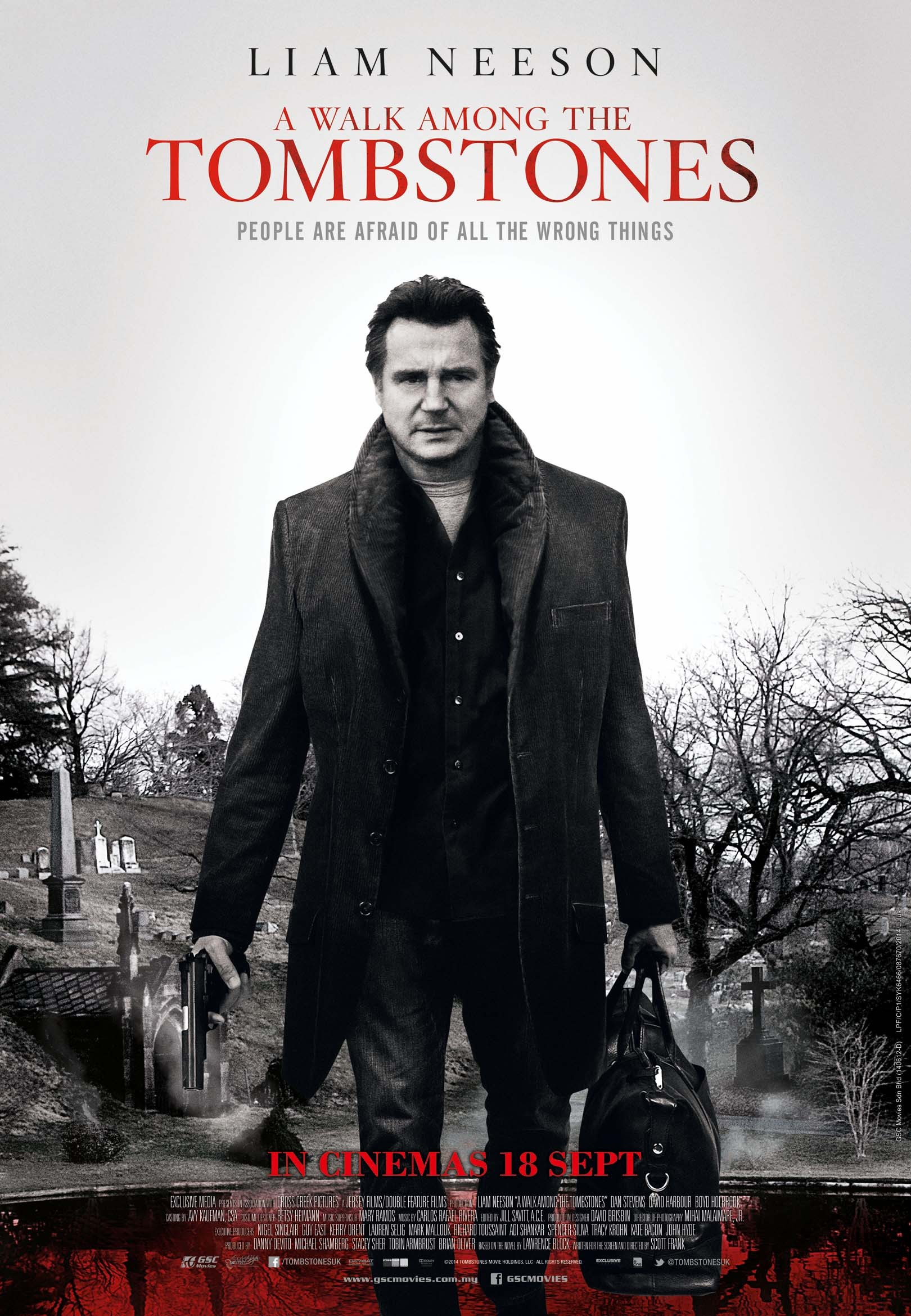 A Walk Among the Tombstones-Official Poster Banner PROMO XXLG-11AGOSTO2014