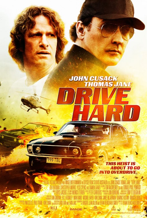 Drive Hard-Official Poster Banner PROMO-14AGOSTO2014